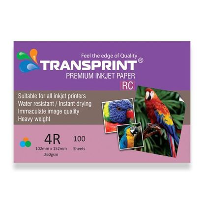 Picture of TRANSPRINT PREMIUM INKJET PAPER RC 4R
