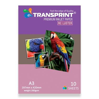 Picture of PREMIUM INKJET PAPER RC LUSTER A3