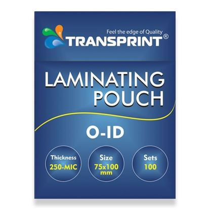 Picture of TRANSPRINT LAMINATING POUCH O-ID 250-MIC