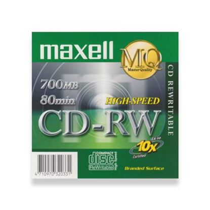 Picture of MAXELL CD-RW